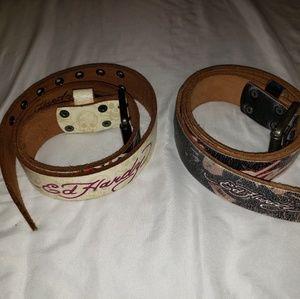 Ed Hardy belts
